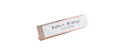 Desk Name Plate Holders