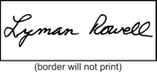 Contact Gordon Stamp & Engraving in Burlington, Vermont for Signature Stamps
